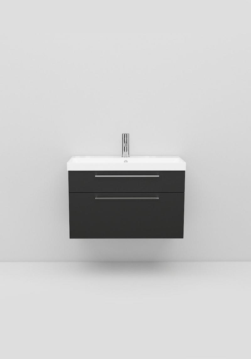 Picture of: Vask Underskab Fix Trend 750 Sort Mat Noro